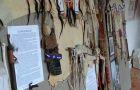 Installazione di oggetti indiani